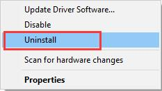 uninstall wacom tablet driver